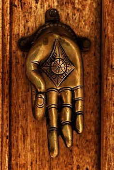We're using handles just like this on a cabinet in the India apartment. Door knockers - Portuguese