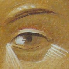 xamist Religious Images, Religious Art, Byzantine Art, Painting Process, Madonna, Sketch, Eye, Abstract, Heart