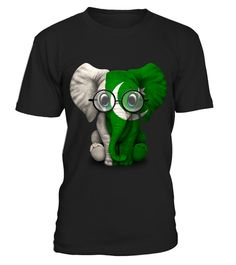 # Baby Elephant with Glasses and Pakistani Flag .  HOW TO ORDER:1. Select the style and color you want: 2. Click Reserve it now3. Select size and quantity4. Enter shipping and billing information5. Done! Simple as that!TIPS: Buy 2 or more to save shipping cost!This is printable if you purchase only one piece. so dont worry, you will get yours.Guaranteed safe and secure checkout via:Paypal | VISA | MASTERCARD