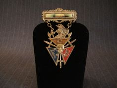 Knights of Pythias Lodge Badge, Skull & Dagger [Vintage] by MaGriffeBoutique on Etsy