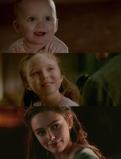 Evolution of Hope Mikaelson Vampire Diaries Damon, Vampire Diaries Seasons, Vampire Diaries The Originals, The Oroginals, Klaus And Hope, The Originals Tv, Vampier Diaries, Hope Mikaelson, Lily Evans