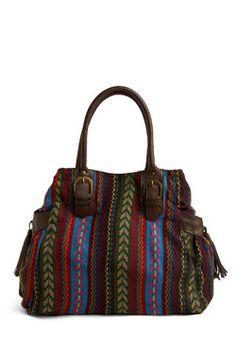 Have It Down Pattern Handbag