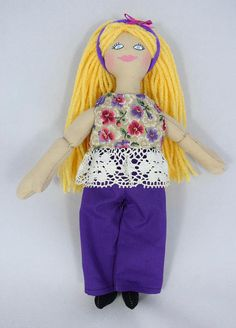 Blonde Girl Doll  Dress Up Doll  Toy Doll
