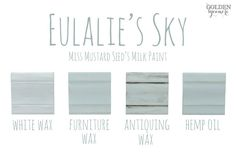 Eulalie's Sky Finishes #MMSMP #mmsmilkpaint