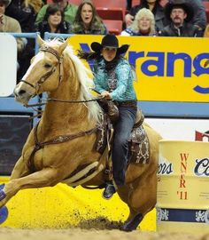 For the love of Barrels  Brittany Pozzi 2011 WNFR