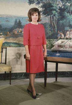 Jacqueline Kennedy, esposa de JFK, en 1962