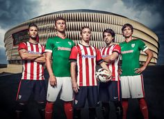 New Athletic Bilbao 14-15 Home and Away Kits Released