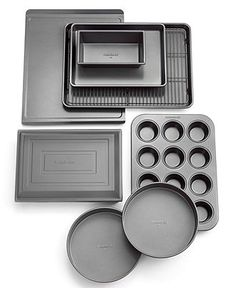 Calphalon Nonstick Bakeware, 10 Piece Set - Bakeware - Kitchen - Macy's Bridal and Wedding Registry