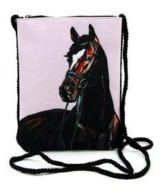 1e577bd971bed Pink Stallion Crossbody Bag  zulilyfinds Horse Jewelry