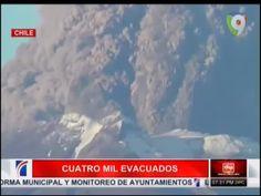 Cuatro Mil Evacuados Tras La Erupción De Un Volcán En Chile #Video