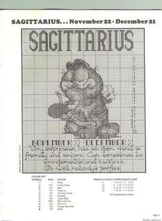 Gallery.ru / Фото #1 - Знаки зодиака из Гарфилда - miamora