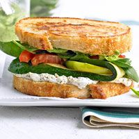 Farmers Market Grilled Cheese - mmm I could eat this everyday!