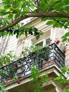 Balcony over Parc Monceau, Paris VIII. Paris