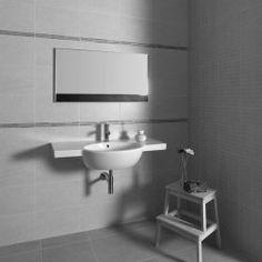 Metropol Signo Soul Gris (Grey) 25x40cm Wall Tile