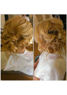 This pin was discovered by xcite prom discover and save your curly updo hairstyles for prom and homecoming curly side bun pmusecretfo Choice Image