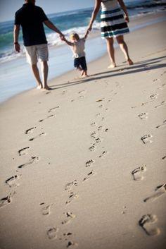 As melhores fotos de família para se tirar na praia : Mil dicas de mãe