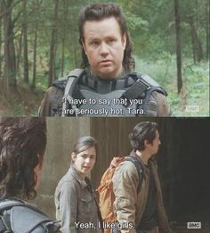 Haha poor Eugene xD Tara is seriously hot though :p