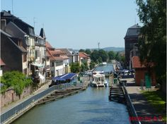Canal de la Marne au Rhin, Saverne  / In Saverne we made our lunch stop.