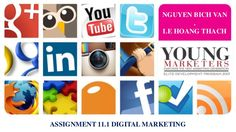 Young marketers elite 2013   assignment 11.1 - hoang thach - bich van by Lê Thạch via slideshare