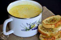kuchnia w czekoladzie: Zupa serowa