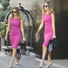 European And American Style Sleeveless Dress Package Hip Slim Pencil Dress