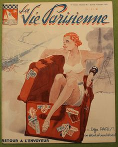 Henry Fournier. La Vie Parisienne, 7 Octobre 1933. [Pinned 25-v-2016]