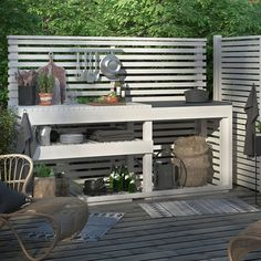 Although old in strategy, the pergola is having somewhat of a present day renaissance these Decor, Summer Kitchen, Outdoor Decor, Outdoor Kitchen Design, Outdoor Living, Pergola Designs, Home Decor, Backyard Living, Outdoor Kitchen