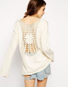 Enlarge ASOS Swing Top With Crochet Lace Back