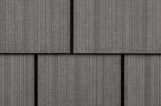 BuildDirect – Fiber Cement Siding - Rustic Select Shingle Panels  – Charcoal - Close View