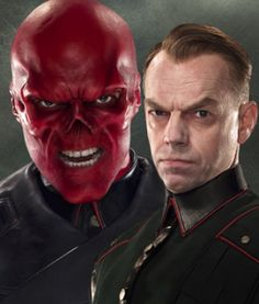 Hugo Weaving as Johann Schmidt / Red Skull