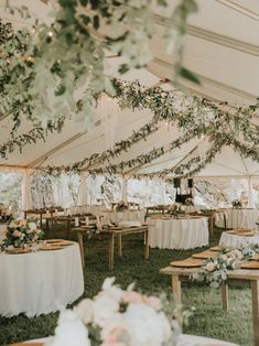 garden wedding tented wedding reception ideas with lights and greenery wedding tent reception ideas Wedding Reception Ideas, Wedding Tent Decorations, Our Wedding Day, Perfect Wedding, Wedding Planning, Dream Wedding, Wedding Parties, Boho Wedding, Outdoor Rustic Wedding Ideas