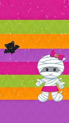 Halo Halloween, Halloween Doodle, Kawaii Halloween, Halloween Items, Halloween Pictures, Halloween Ghosts, Cute Halloween, Halloween Wallpaper Iphone, Holiday Wallpaper