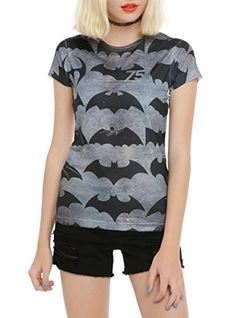 DC Comics Batman 75 Years Girls T-Shirt 2XL @ niftywarehouse.com #NiftyWarehouse #Batman #DC #Comics #ComicBooks