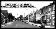 Stanford-le-Hope, Corringham Road c1960