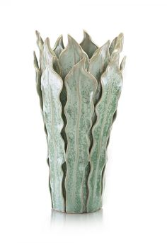 Large Fern Leaf Vase SKU: JRA-9165