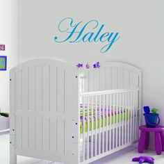 Custom Name Wall Stickers - 5 Letters - $21.55 : Bellas Little Ones Australia, ErgoBaby Carrier Nursery Wall Stickers Kids Wall Decals Manduca Baby Carrier