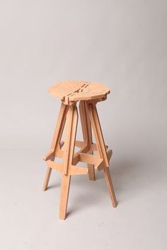 Bar Stool--Stack and Frame Puzzle Furniture by Konstantin Achkov