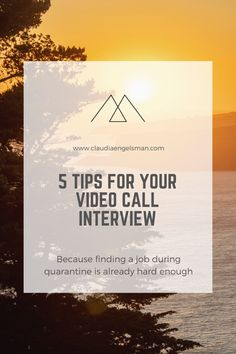 How to prepare for an online video interview and be confident about it. Location Plan, Online Interview, Online Video, Learn To Code, Call Backs, Find A Job, You Videos, Confident, Knowing You