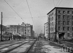 Berlin. Prinz-Albrecht-Straße, Gestapo links. 1945