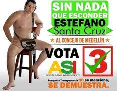 ¿Crees que son útiles 'los desnudos' en la publicidad de una campaña política? #CampañasAntimanual Marketing, Tour Guide, Tv Shows, Swimwear, Blog, Facebook, Santa Cruz, Socialism, Advertising