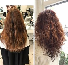 Curly hair | Before & After | Day & Night Hairdressers | Kapper Amsterdam