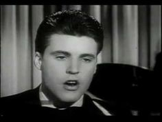Ricky Nelson - Travelin' Man 1961.  When I was a kid I loved the sound of this song, and just look, it's dreamy Ricky Nelson!! But I don't think I even listened to the words back then - obviously not a cool message here  :)