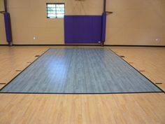 Omnisports 6.5 GreenLay installation in Maple & Grey Maple in Lakewood, NJ. Installed November 2012