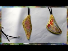 ▶ How to Apply Gold Leaf to Watercolor Paper Jewelry - YouTube    This video had excellent information that works with multi-media art as well as jewelry applications. pat