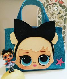 Lol bag, lol Surprise, lol party, borsa lol, lolbag – My All Pin Page Fun Crafts For Kids, Diy And Crafts, Free To Use Images, Doll Party, Lol Dolls, Foam Crafts, Girls Bags, Felt Toys, Diy Doll