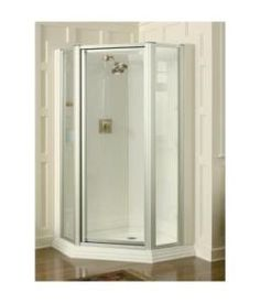 cleaning a one piece shower insert and glass doors