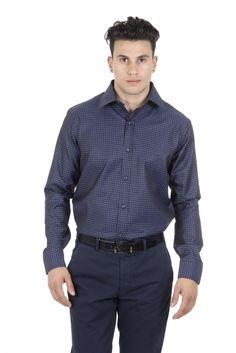 Versace 19.69 Abbigliamento Sportivo Srl Milano Italia Fit Modern Classic Shirt 377 ART. 417