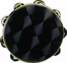 """Remo 8"""" Pretuned Tambourine with Single Row of Jingles, Black Prizmatic Head by Remo. $18.75. An economical way to add tambourines to your instrumentarium. (Remember, since the head is not tunable each instrument may have a slightly different pitch.)"""