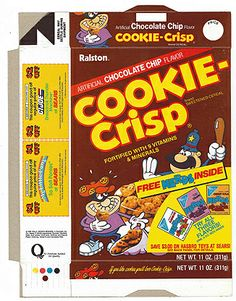 Cookie-Crisp Cereal Box NERDS offer