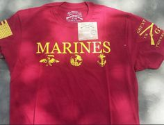 Marines (Grunt Style) T-Shirt (Size M) - Meach's Military Memorabilia & More